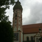 church at the top