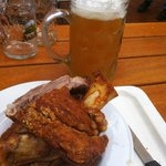 helle and pork knuckle