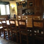 Dining room - we had a fabulous breakfast here with great conversation with other guests.