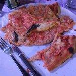 "My ""wet"" tasteless pizza!"