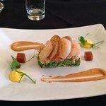 seafood plate starter