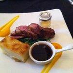 lamb Rump main course
