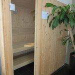 in room sauna