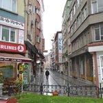 улица отеля