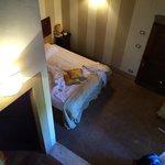 La camera dall'alto