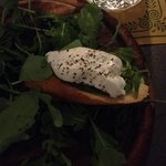 Pesto & Burrata Bruschetta