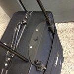 kapotte bagage