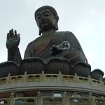 View of the Buddha statue