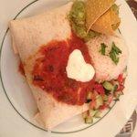 burrito végétarien pas épice parfait