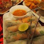 spring rolls similar to Vietnam