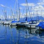 Yachthafen des Hotels