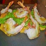 Ottimo piatto ,la cottura dei gamberoni era perfetta, un piatto perfetto per la stagione estiva