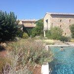 Piscine et jardin mediterrannen