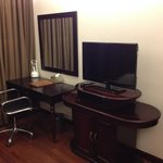 TV and working desk