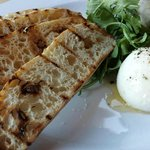 Their burrata is one of the best parts of the meal! Simple and so good.