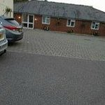 View of the Annexe to the right of the Inn - Bedroom Suits as they called them !!! ha ha ha