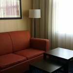 Rooms with sofa nice size.