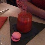 Gaspacho de fraises gariguette