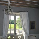 """View from """"Chambre Bleue"""" room"""