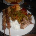 Greek Night Food