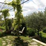 La suite Olive côté jardin