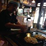 proprietaria e okonomiyaki