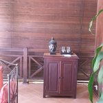 Il balcone della camera