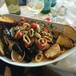 Fish soup, enormous!