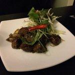 Wok tossed beef