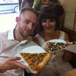 Wedding Day pizza!