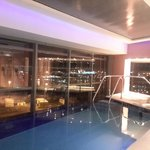 Swimming pool on the 18th floor