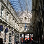 Galeries St Hubert, Europe's first covered shopping arcade
