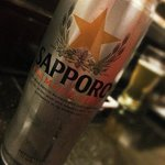 Who doesn't love a cold Sapporo!!!!!