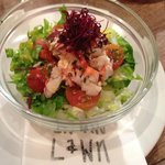 Tiny portion Lobster Salad