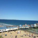 View of Pier from Ferris Wheel