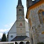 Front view of Wallfahrtskirche Catholic Church.
