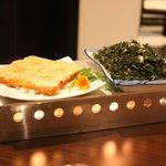 Prawn Toast and Seaweed