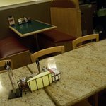 Seating in the Restaurant