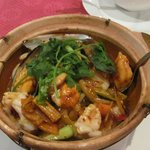 spicy seafood pot