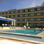 Pool and main hotel building