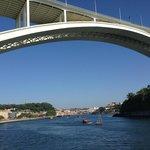 River + Bridge 10 mins walk from hotel