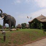 mweya entrance - karibu
