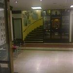 Part of the main lobby