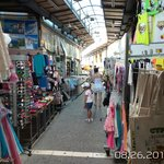 Old town pafos shopping area