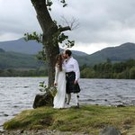A lochside kiss