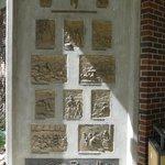 Decorative outdoor panel