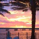 Typical Tiki Bar Sunset