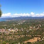 Kyparissia Castle - overlooking Kalo Nero