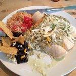 Tast enchiladas at La Taqueria