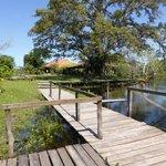 Deck sobre o Rio Salobro